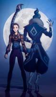 mysterious couple by VitosaBu