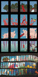 Hanafuda Card Set by pinku