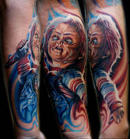 chucky from childs play by tat2istcecil