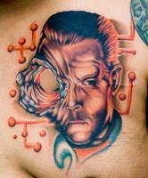 t-1000 terminator tattoo by tat2istcecil