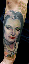 lily munster by tat2istcecil