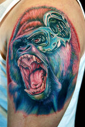 gorilla- nator by tat2istcecil