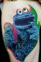 cookie monster by tat2istcecil