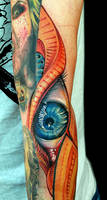 Freehand Eye by tat2istcecil