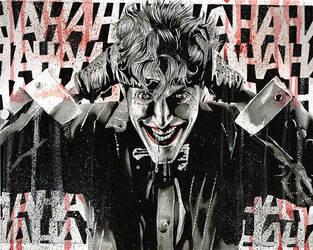 Brian Bolland Joker by tat2istcecil