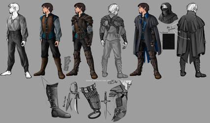 apparel breakdown concepts by Rynnay