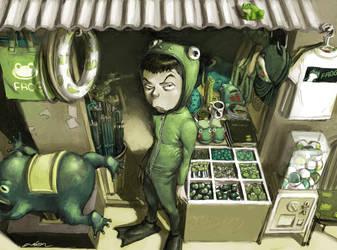frog shop by cuson