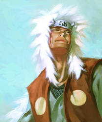 Jiraiya by cuson