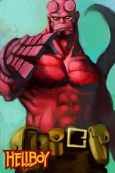 hellboy2 by cuson