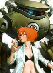 sexy scientist by cuson