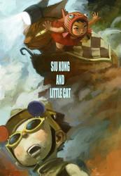 poster for siu kong series by cuson