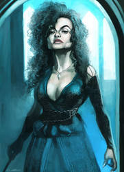 Bellatrix Lestrange by cuson