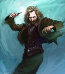 Sirius Black by cuson
