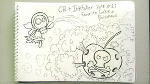 Inktober Day 1: Cherry's Poison Bomb [Cookie Run] by EezySeven