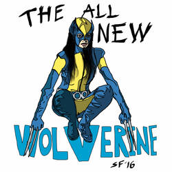 X23 the all new wolverine  by Number1Exile