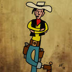 Lucky Luke by Number1Exile