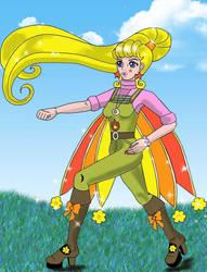 Sirenitia The Fire Fairy for Clipperwhiz1 by serenitysmoon