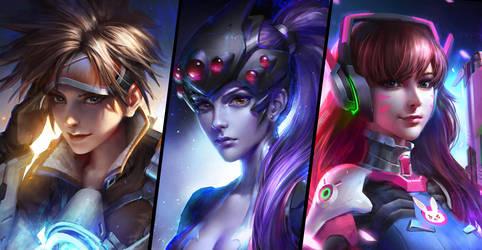 THREE GIRLS by GothicQ