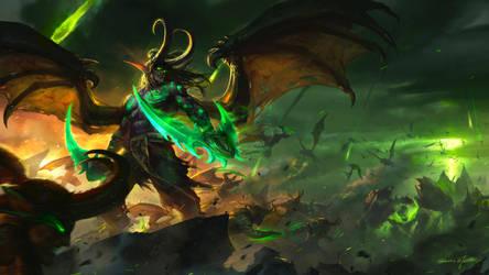 Illidan Stormrage by GothicQ