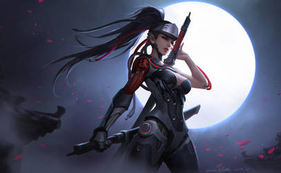 Blackwatch Genji by GothicQ