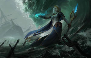 Jaina Proudmoore by GothicQ