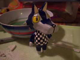 Finished Lobo figure by DemureGirl