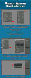 Minimalist Wallpaper Guide | Inkscape by ncoll36