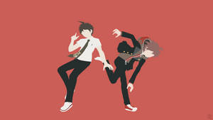 Hajime + Makoto (Danganronpa) by ncoll36