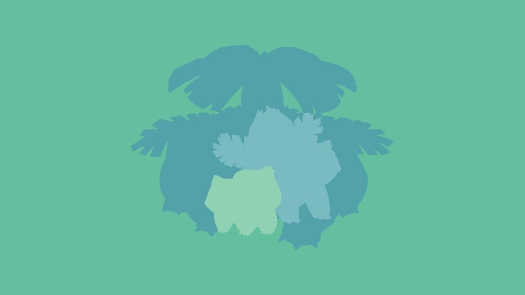 Bulbasaur - Ivysaur - Venusaur (Pokemon) by ncoll36