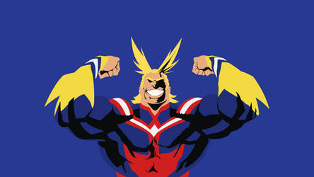 All Might (My Hero Academia) by ncoll36