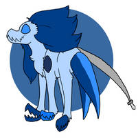 Corrupted Kyanite by possholl