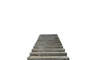 Steps at the Beach Stock Photo-0131-PNG by annamae22