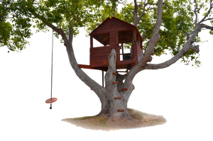 Tree House Stock Photo-0117-PNG by annamae22