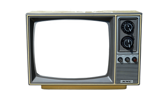 Old TV Stock Photo DSC 0010 - PNG by annamae22