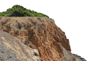 Rocky Cliff Stock Photo 0217 PNG by annamae22