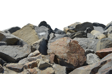 Rocks Stock Photo 0238 PNG Elements by annamae22