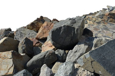 Rocks Stock Photo Side View 0228 PNG Elements by annamae22
