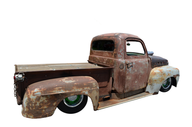 Old Truck PNG Stock Photo 0007 Side View by annamae22