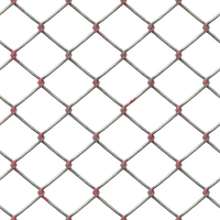 Metal Chain Fence PNG Stock cc2 by annamae22