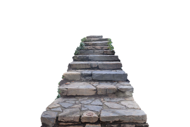 Stone Staircase PNG Stock Photo 0180 by annamae22