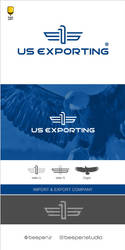 logo-design-US-Exporting by Amir-Farahani