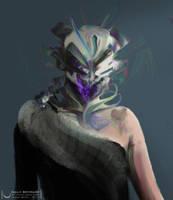 alien helmet by RoeeateR