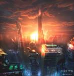 Cyberpunk NEW YORK by RoeeateR