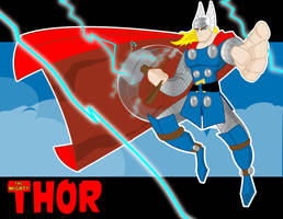The Mighty Thor by createink