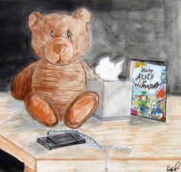 Teddy Bear Stillife by Keyrye