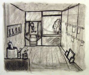 Makebelieve Room Study by Keyrye