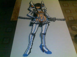 Junketsu Satsuki Kiryuin by R6b1xCub3r