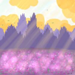 Fields of Purple by Kropee
