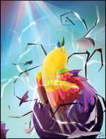 Demian: The Heraldic Bird by kuroseishin