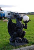 Dragon Sculpture by Pygar-Art